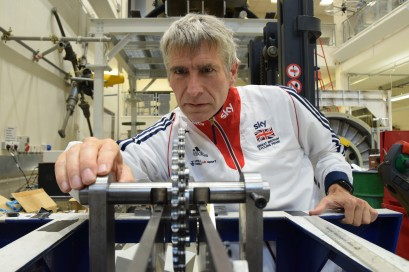 Prof. Stuart Burgess, University of Bristol - Team GB Olympic Bike Photoshoot