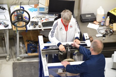 Prof. Stuart Burgess, University of Bristol - Team GB Olympic Bike Photoshoot